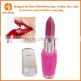 Professional New Design Feminine China Kiss Beauty Duo & Two Colors Pink & Red Lip Balm Supplies Lipstick Without Lead