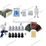 NO:LYH-WTPM001-DK A4 size dipping kit hydrographic film stainless steel tank spray gun pretective suit
