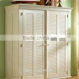 Top-grade exterior louver door shutters aluminium door at crazy price