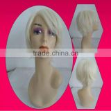 2014 fashion high quality synthetic short men wigs