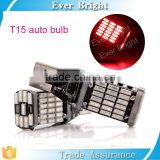 Best Selling Car Accessories T15 4014 45SMD Canbus ERROR FREE Turn Signal Reverse Back UP Light