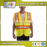 Hot sell hi vis work wholesale reflective strap safety vest