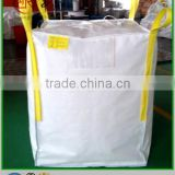 100% New virgin PP woven big bag , jumbo bag FIBC for cement , lime , salt , iron ore , silica