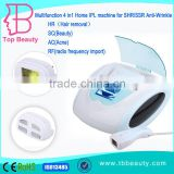 Hot selling Homeuse portable ipl equipment With RF Radio frequency for hair removal face lift Acne Treatment