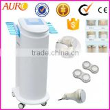 AU-51 With 6pcs Oriented Cracking Weight Loss Head Cavitation Slimming Ultrasound Rf Machine Cavitation Rf Slimming Machine