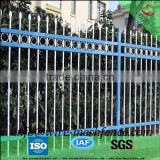 2016 hot sale Welded steel picket fence/spear top wrought iron fence/ornamental iron fence alibaba china supplier