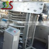 INquiry about spiral freezer production china made low noise export to EU MALAYSIA IRAN TURKEY NIGERIA
