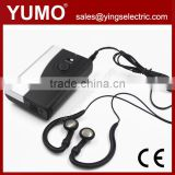 INquiry about YUMO AG300 796.1-802.7MHZ wireless tour guide system audio guide system