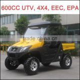 600cc UTV 2 Seats, CFMOTO Engine UTV, EPA UTV, 4x4 UTV, 4WD Utility Vehicle, 4 Wheel Drive UTV, Bench UTV, China Cheaper UTV.