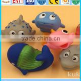 squiirt pvc animal bath toys, caroon funny rubber duck toys, pvc bath toys floating