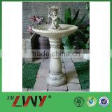 Artistic countryside design patio decoration resin angel water fountain outdoor