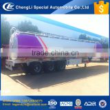 CLW customized heavy duty 3 axle 4 axle 50000 liters 50 cbm crude oil diesel gasoline transport tank semi trailer for hot sale