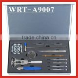 (WRT-A9007) Watch Repair Tool Kit w/ Battery Changing, Watch Opening, Band Sizing and Storage Case