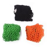 NetNeed Pack of 3 Cotton Reusable Grocery Net Shopping String Bags(Green/Black/Orange,Classic Handle)