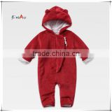Korean Fashion Kids Romper Baby Animal Softextile Cute Baby Romper Kids Polar Fleece Rompers