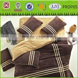 Home textile polyester adult super soft printing microfiber flannel bed sheet/fleece blanket