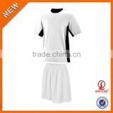 OEM factory wholesale soccer uniforms set for adult/custom dry fit mens soccer wear football uniforms