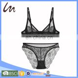 New Arrival Beautiful Lace Sexy Lady Sexy Girls Bra & Sets Ladies Thong Underwear Lingerie Set Bra Panty