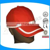 ultraviolet-proof sport cap with EN 471 color reflective tape