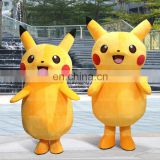 Pikachu adult soft mascot pokemon costume