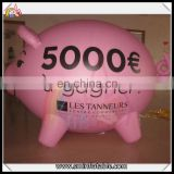 2016 crazy selling inflatable cartoon peppa made of pvc for advertising