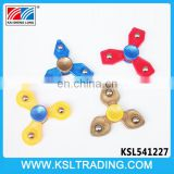 Hot sale plastic 3 bar cheap fidget spinner top for children