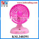 summer toy kids battery operated mini fan