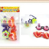 spectacles toy,kids Plastic crazy party goofy glasses toy