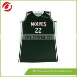 Wholesale high quality branded wolves basketball jersey Australia Professional customization basketball jersey supplier from CN