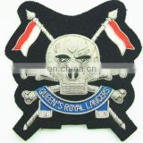 British Army Blazer Crests with Bullion Embroidery Badge, Military | Army | Navy | Air Force Hand Made Badges and Crests