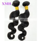 Fast shipping cheap wholesale body wave 100% virgin brazilian human hair extension in dubai