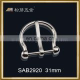 Factory bulk belt buckles buckle for watch straps custom metal belt buckles