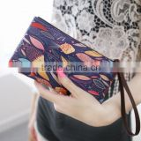 Multi design Mix color PU leather wallet Purse Billetera Carterea Multifunction with ID and bank card Holder