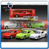 Mini Qute 1:32 kid Die Cast pull back alloy music luxury racing car vehicle model car electronic educational toy NO.MQ 504L