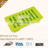 Easy Clean Strip Shaped Ice Cube Tray