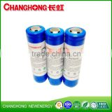 Changhong Lithium Battery 3.7V 18650 high quality and high drain rechargeable li-ion Battery