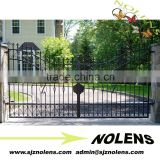 Hot Sale Low Price Latest Main Gate Colour Colors Designs/wrought iron gates /wrought iron double doors /metal iron gate