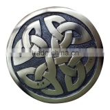 Celtic Design Piper Plaid Brooch In Antique Finish Made Of Brass Material