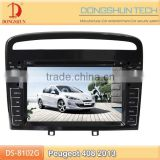 8 inch HD touch screen Peugeot 408 DVD GPS with bluetooth,IPOD,digital TV available