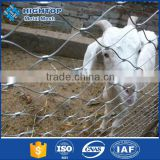knotted woven rope wire mesh cable tray