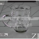 Mini example of f cup from China mini glass cup manufacturers