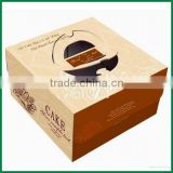 Eco-Friendly paper food box,Cheap Printing cardboard food packaging, Custom Recyleable Paper Cake Box