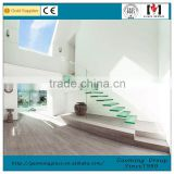 Interior Stair Handrails,Glass Stair Handrail for Indoor Glass Stair                                                                         Quality Choice