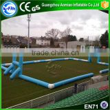 Crazy sport game inflatable football field goals,rugby pitch,inflatable rugby field for sale                                                                                                         Supplier's Choice