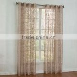 2015 zebra luxury classic burn out sheer curtain