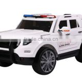 2016 police toy car with remote control,24v police car with music 2.4G R/C,ride on police car
