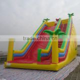 2014 good quality commercial banzai inflatable water slide