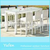 rattan table and chairs used nightclub furniture for sale