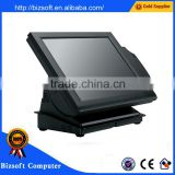 Bizsoft High quality POSTOUCH E-P15T Touch screen programmable pos terminal with card reader