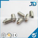 Stainless Steel Hexagon Socket Set Screws With Cone Point                                                                                                         Supplier's Choice